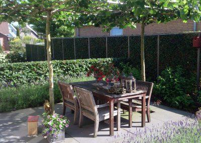 tuinaanleg kleine tuin
